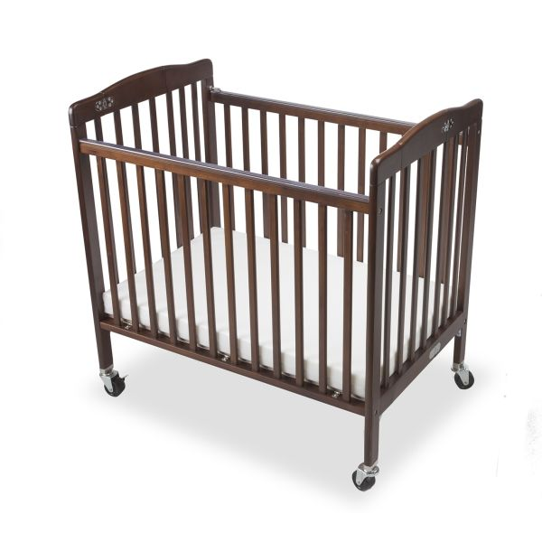 Lit pliant bébé limea acajou - dimensions : l 101 x l 67 x h 102 cm