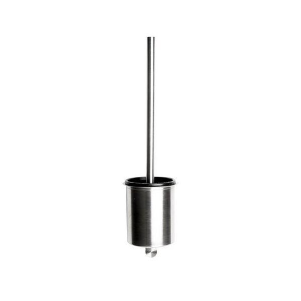 Balai wc lova clean 3 en inox brossé - hauteur 43,2 cm