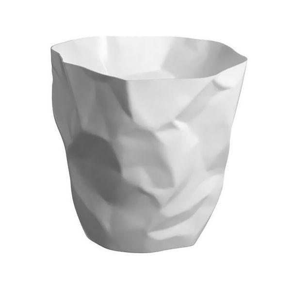 Corbeille blanche minibin 7,5l - hauteur : 25 cm