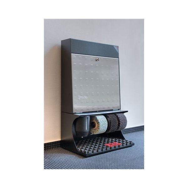 Cireuse ronda 30 strandard acier - dimensions : l 46 x p 30 x h 79 cm