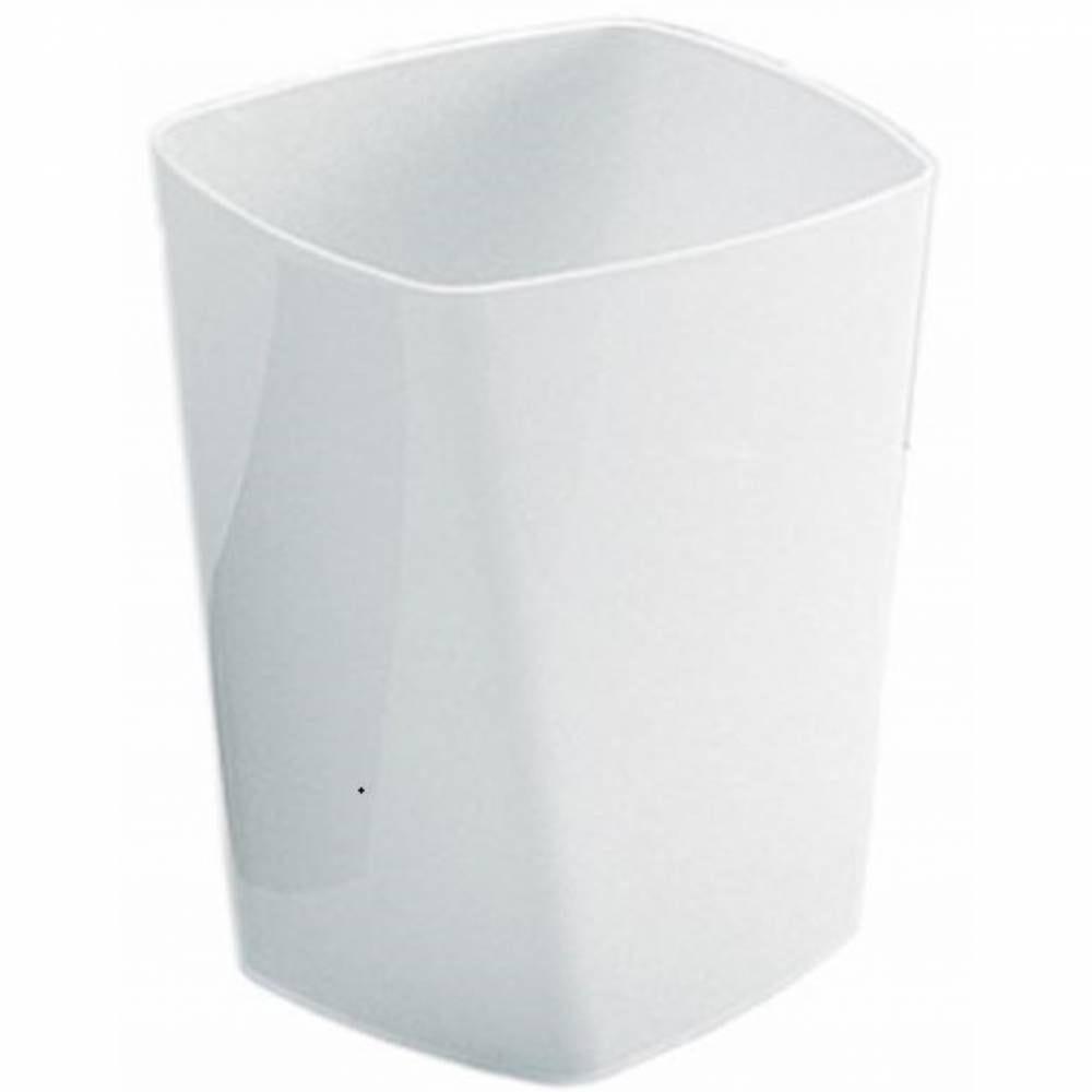 Corbeille support sac swing 13l - coloris blanc - hauteur 32 cm