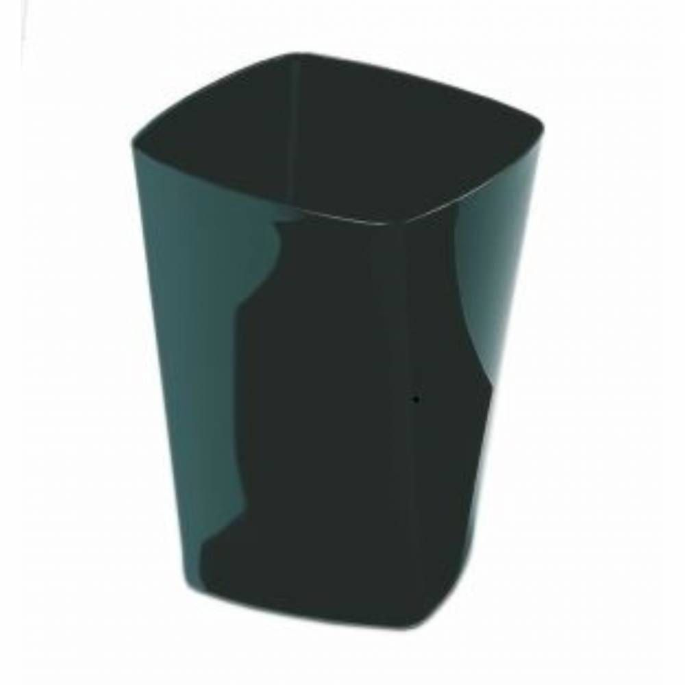 Corbeille support sac swing 13l - coloris noir - hauteur 32 cm