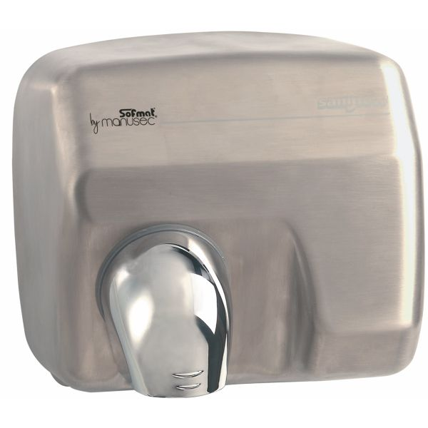 Sèche-mains saniflow inox satiné auto