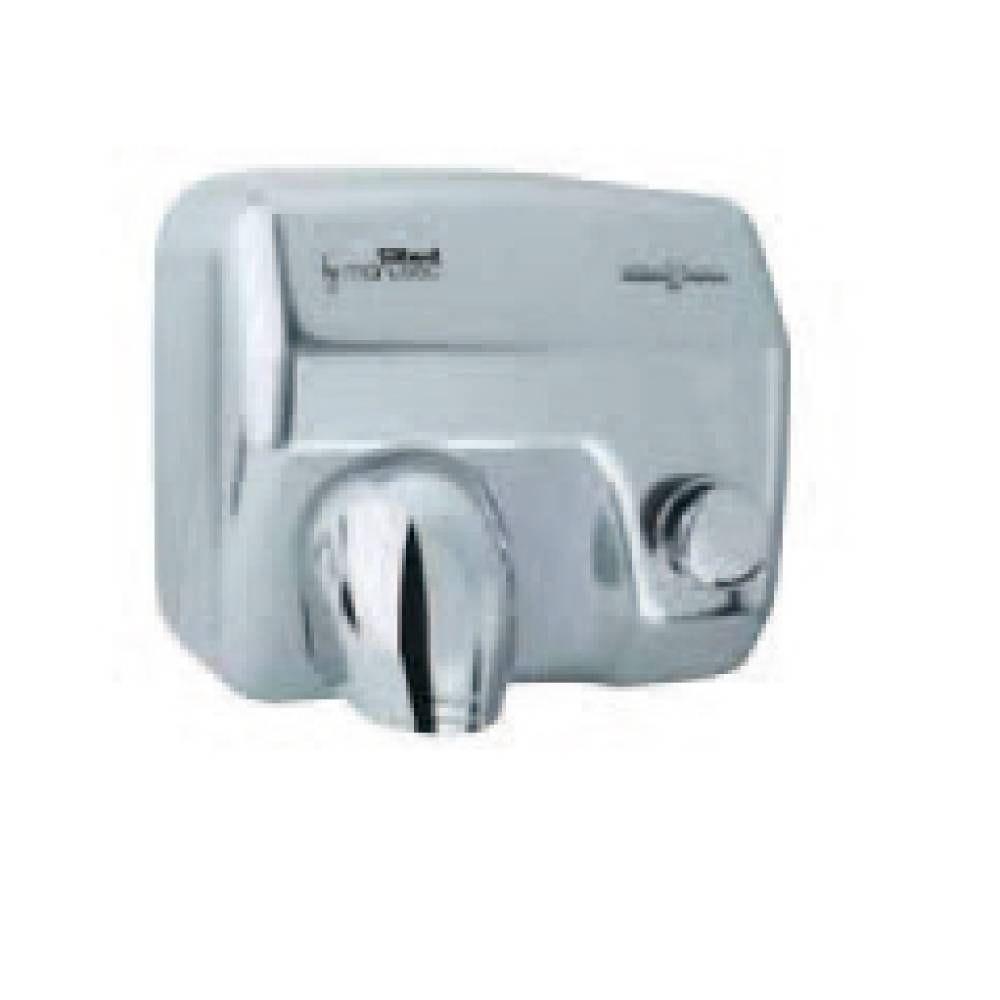 Sèche-mains saniflow inox brillant bouton poussoir