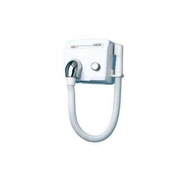 Sèche-mains saniflow bouton-poussoir avec flexible