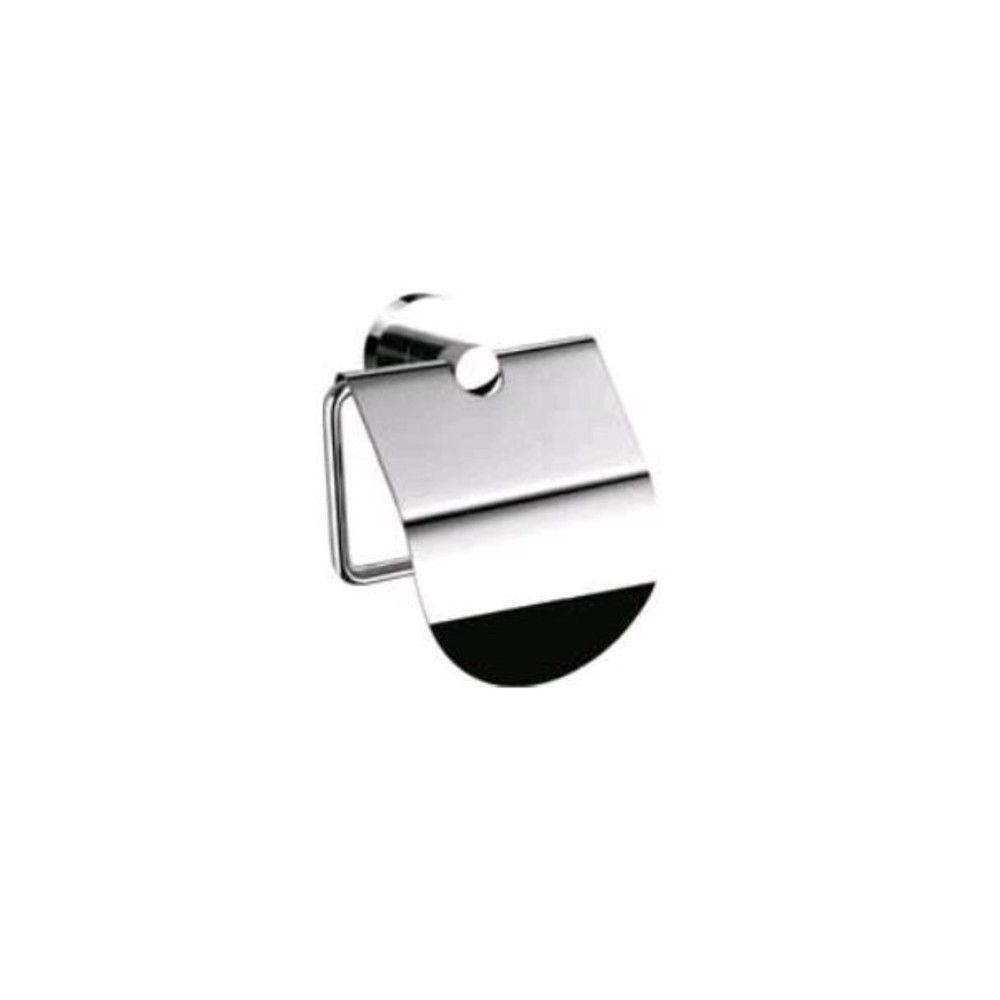 Porte-papier rouleau simple avec couvercle collection courtoisy 1200
