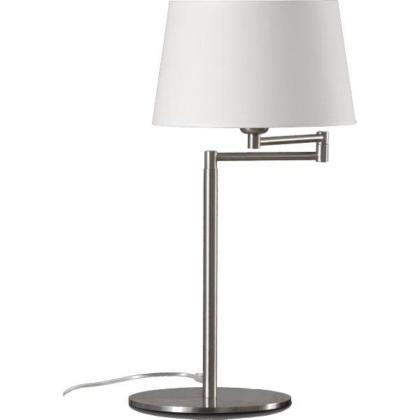 Lampe à poser dion - dimensions : l 23 à 31 x h 57 cm