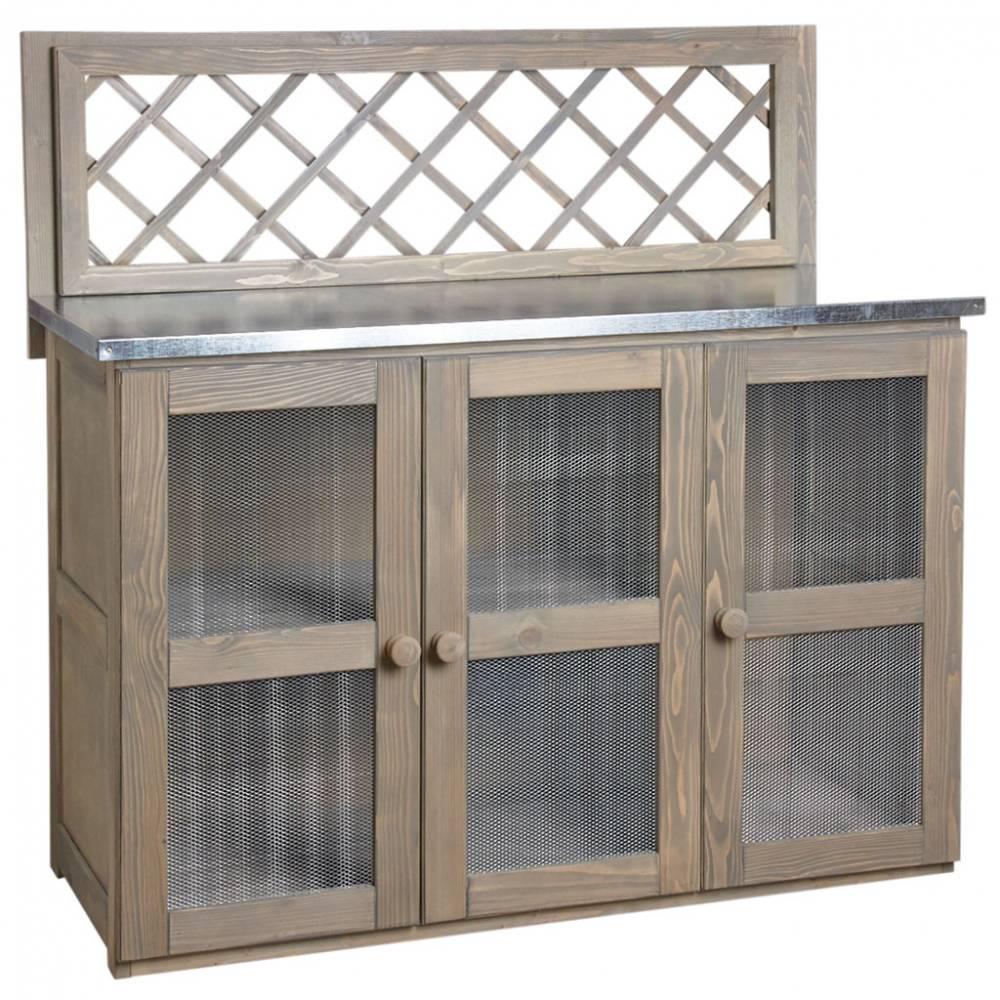 Meuble pour cuisine d'extérieur  120x51x120