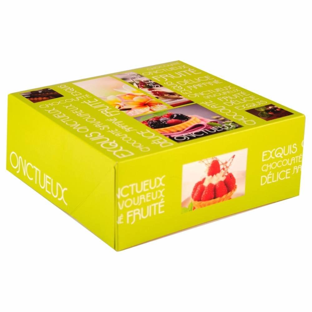 Boîte pâtissière Artisan 20 x 20 x 8 cm Par 50
