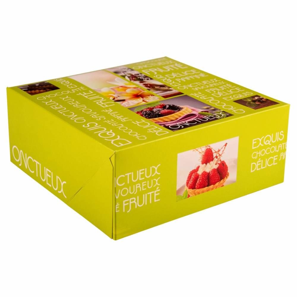 Boîte pâtissière Artisan 24 x 24 x 10 cm Par 50