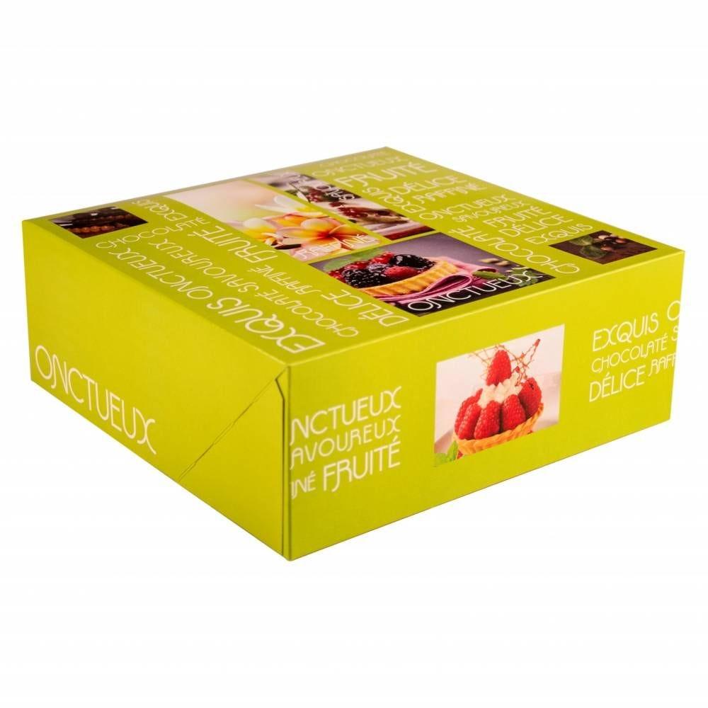 Boîte pâtissière Artisan 26 x 26 x 10 cm Par 25