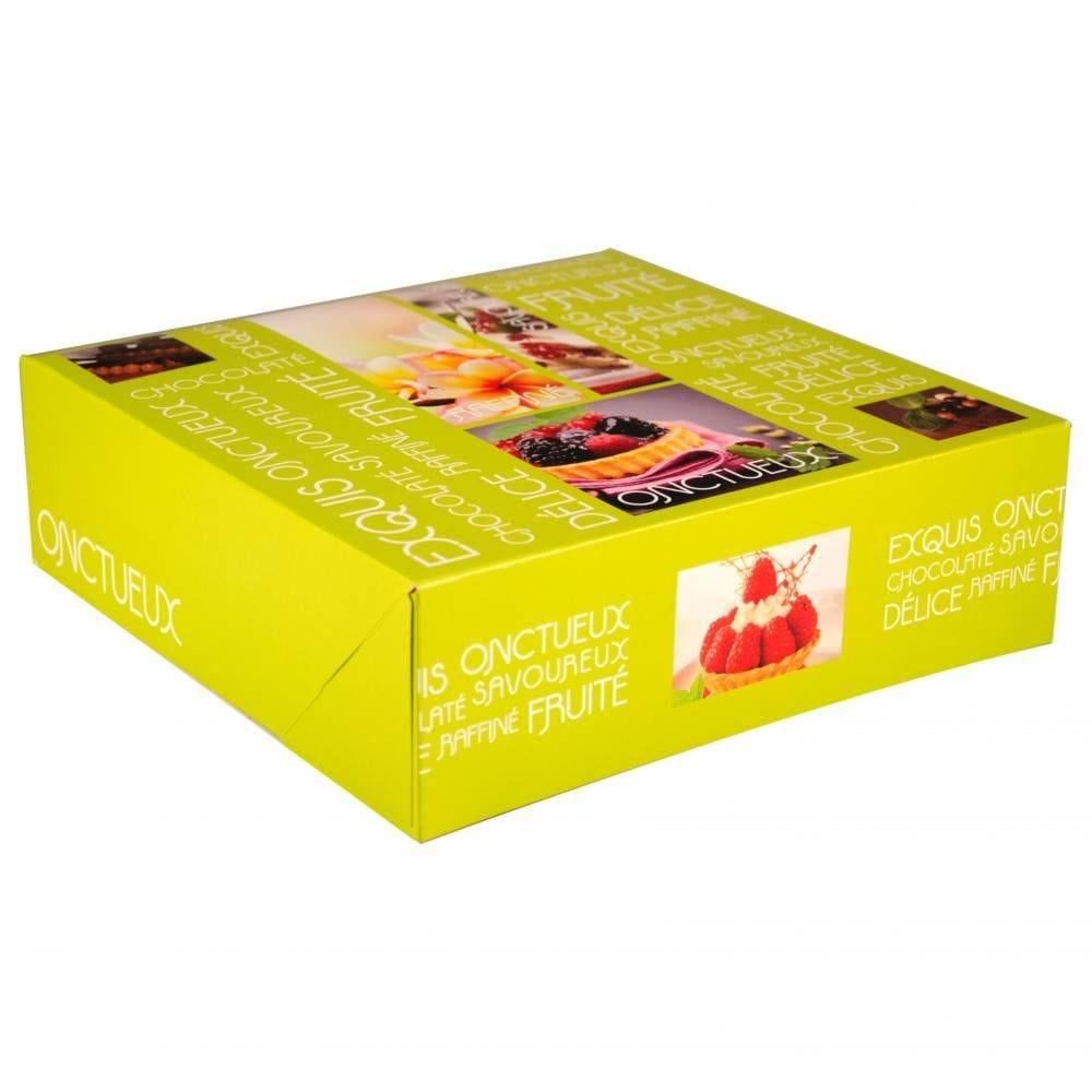 Boîte pâtissière Artisan 26 x 26 x 8 cm Par 50