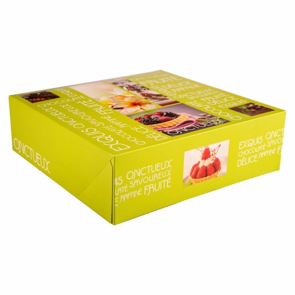 Boîte pâtissière Artisan 32 x 32 x 10 cm Par 25