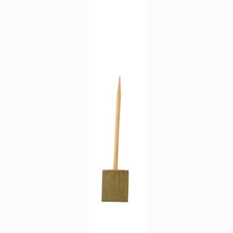 Pique bambou sur socle 'Bhut' 10 cm Par 20