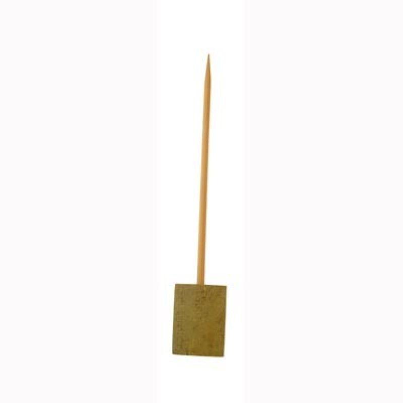 Pique bambou sur socle 'Bhut' 15 cm Par 20