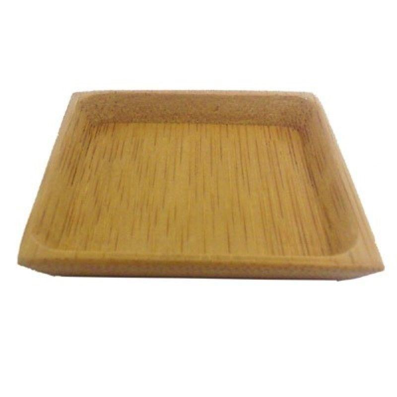 Assiette carrée rebords 'Poda' 6 cm Par 24