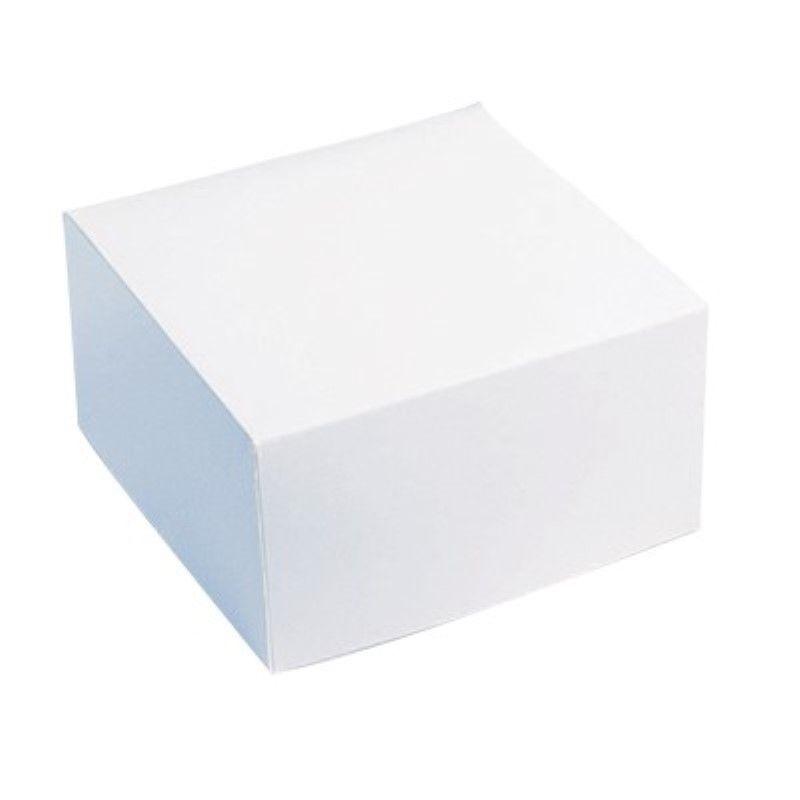 Boîte pâtissière carton blanche 18 x 18 cm Par 50