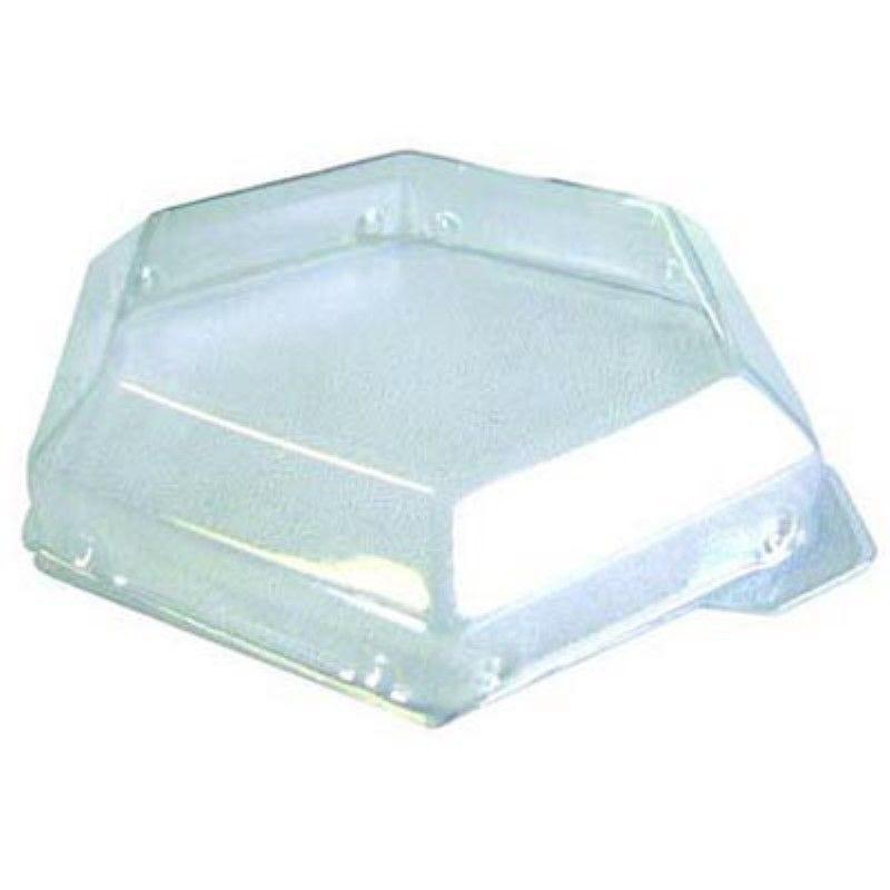 Couvercle PET transparent 'Deva' 10 x 5 cm Par 100