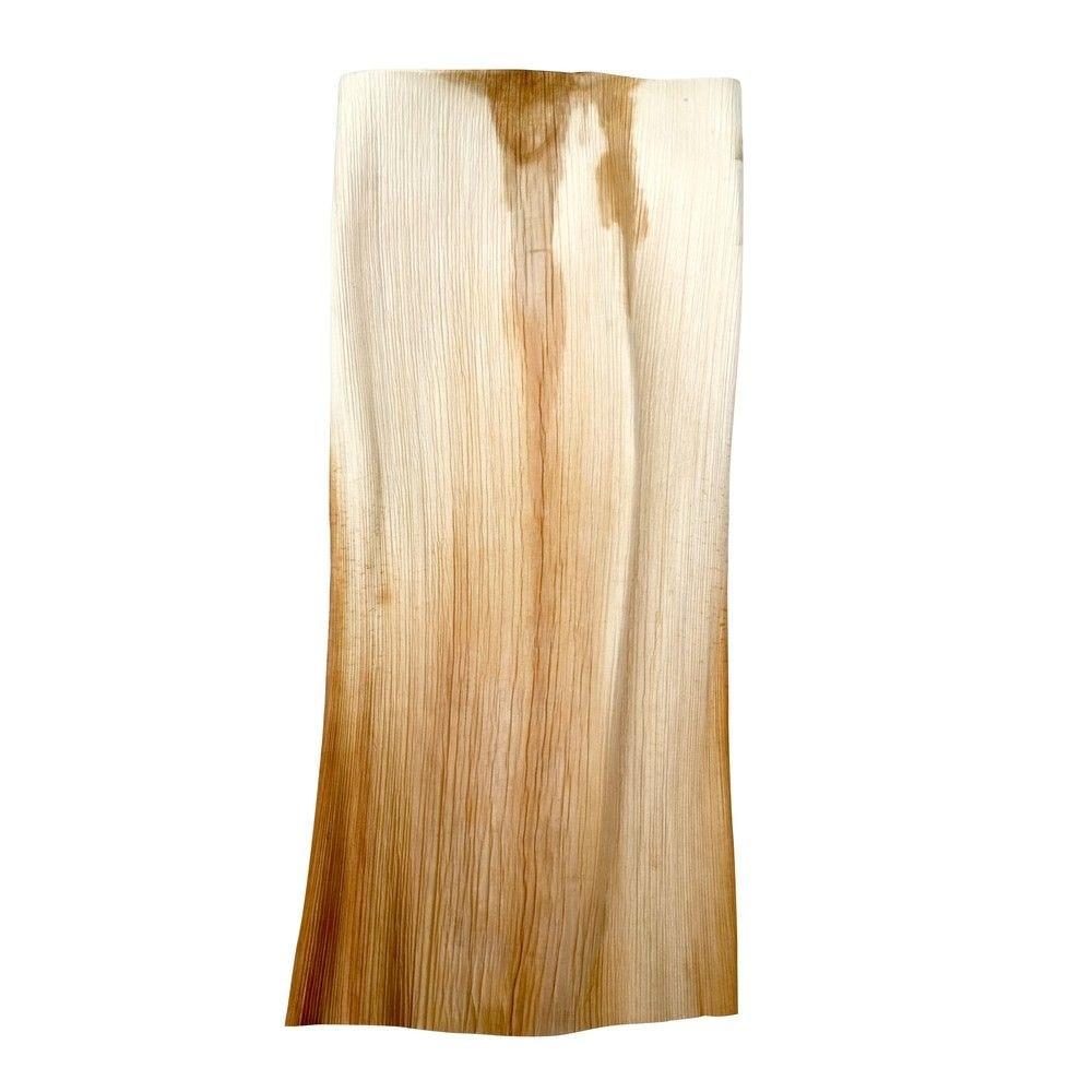 Feuille de palmier naturelle 55 x 32 cm Par 10