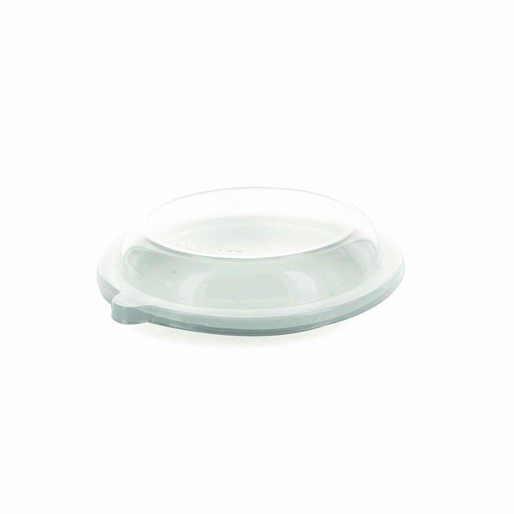 Couvercle PET transparent 15,2 cm Par 50