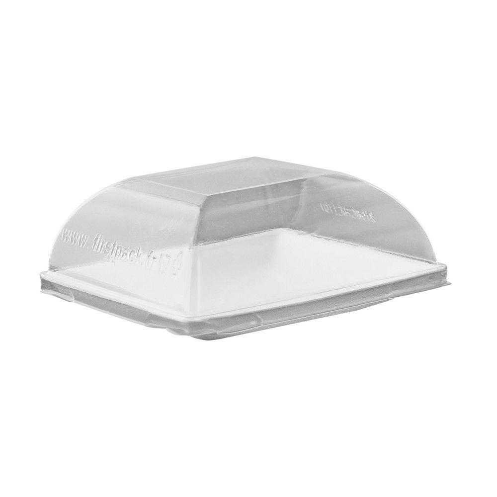 Couvercle PET transparent 'BioNchic' 9,1 x 9,1 cm Par 100