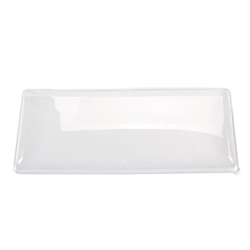 Couvercle PET transparent 'BioNchic' 40,4 x 15,7 cm Par 50