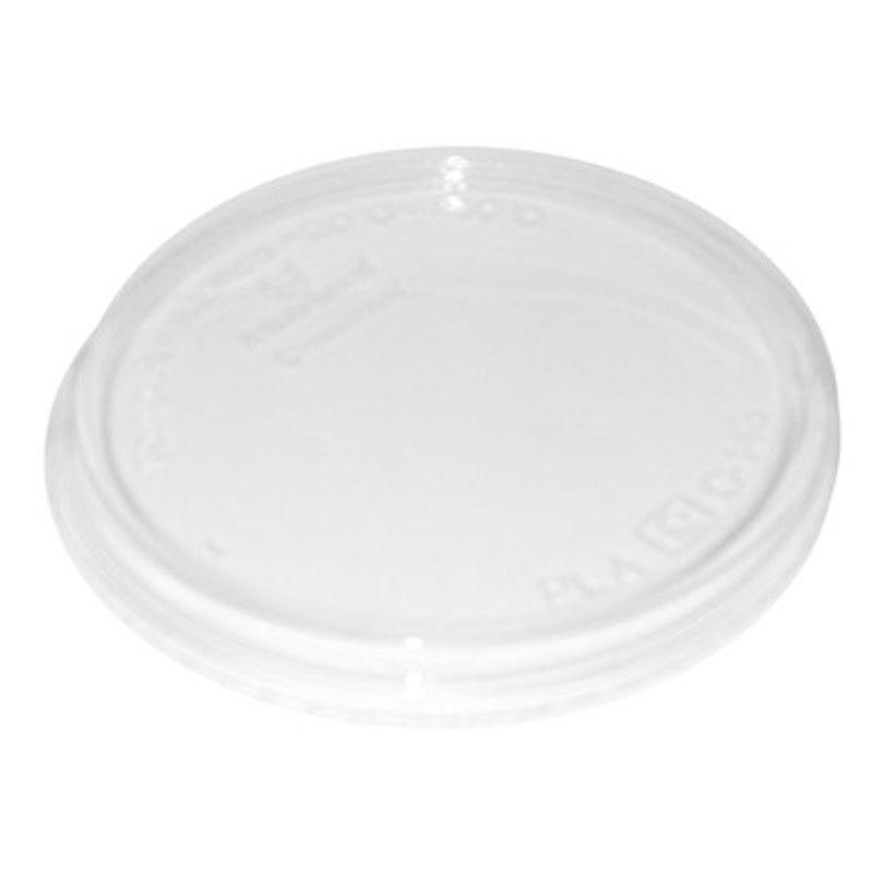 Couvercle rentrant PLA transparent 12,1 cm Par 50