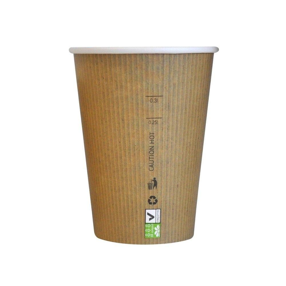 Gobelet carton PLA 'Nature Cup' 34 cl Par 50