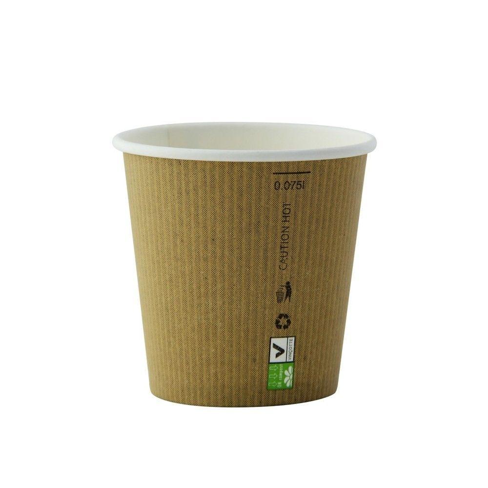 Gobelet carton PLA 'Nature Cup' 9 cl Par 50