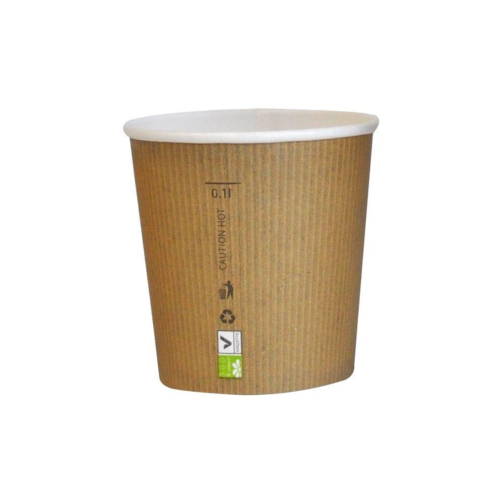 Gobelet carton PLA 'Nature Cup' 12 cl Par 50