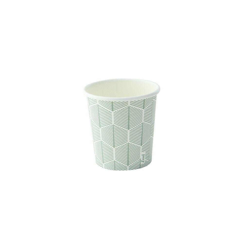 Gobelet carton décor 'Leaf' 12 cl Par 100