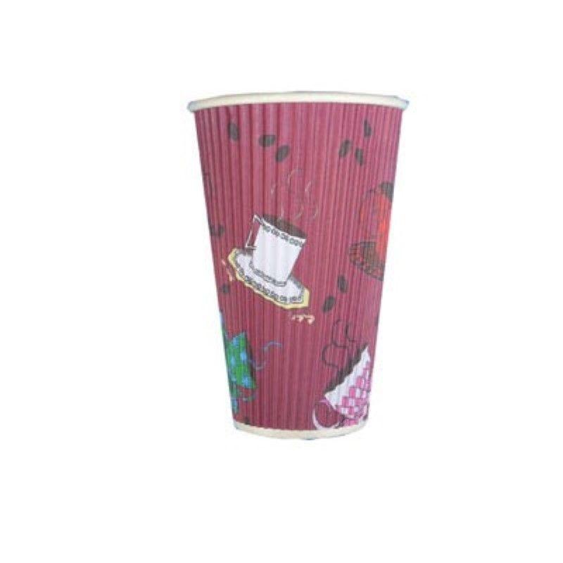 Gobelet carton double paroi décor 'Tea Cup' 40 cl Par 25