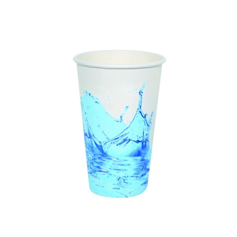 Gobelet carton boisson froide décor 'Splash' 34 cl Par 100