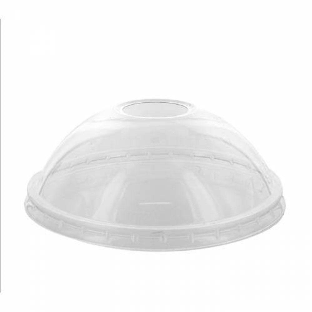 Couvercle PET transparent dôme 11,4 cm Par 25