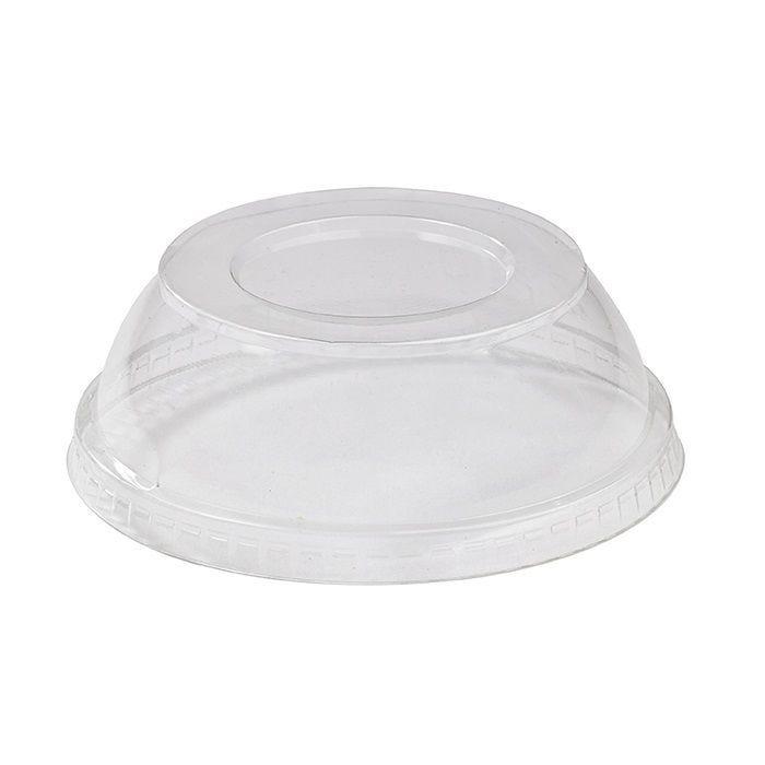 Couvercle PET transparent dôme 11,7 cm Par 50