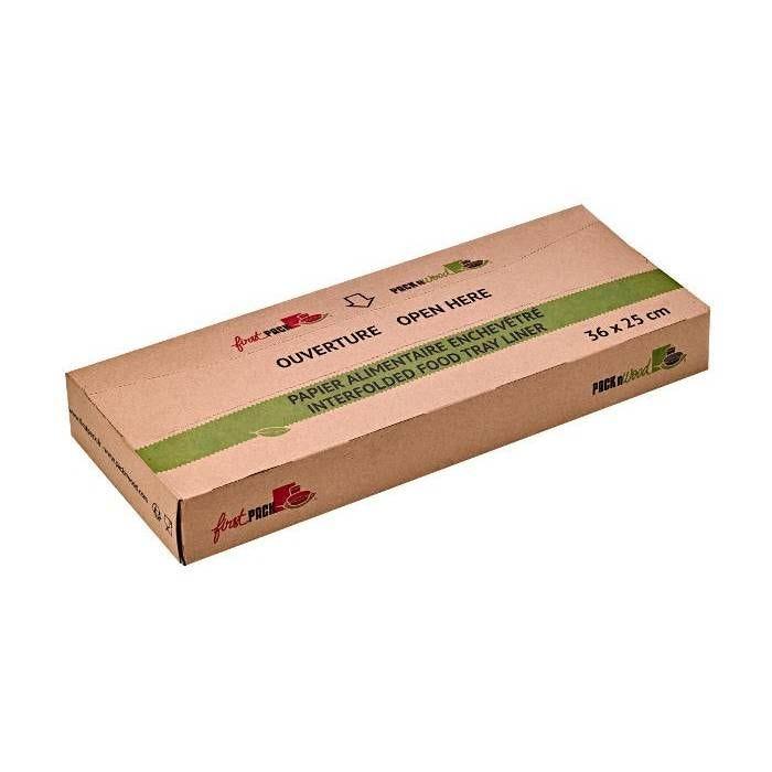 Papier blanc enchevêtrée en boite distributrice 36 x 25 cm Par 350