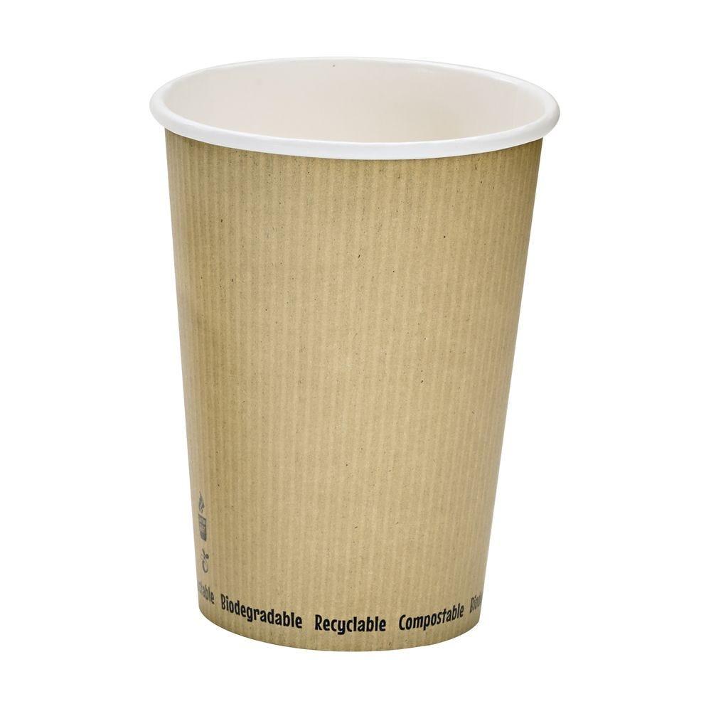Pot carton blanc chaud et froid décor 'Nature' 94 cl Par 25