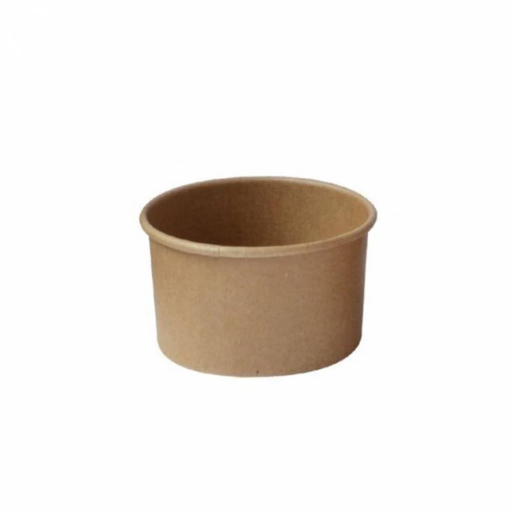 Pot carton kraft brun chaud et froid 10 cl Par 50