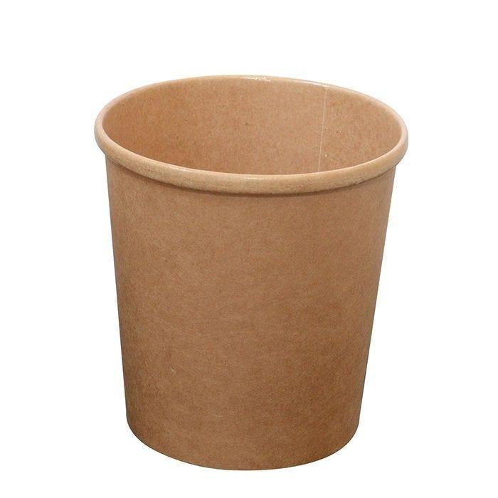 Pot carton kraft brun chaud et froid 36 cl Par 25