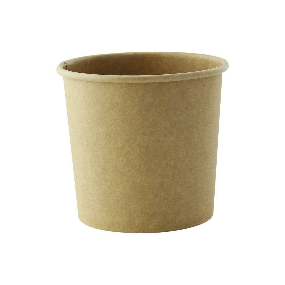 Pot carton kraft brun chaud et froid 36 cl Par 50