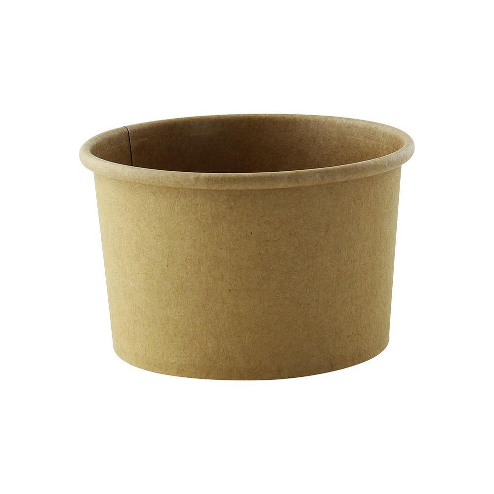 Pot carton kraft brun chaud et froid 23 cl Par 50
