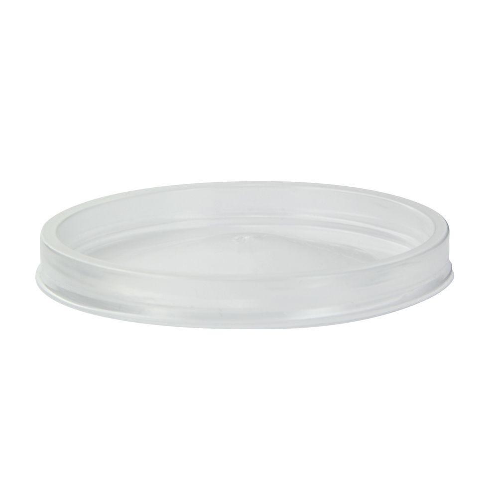 Couvercle PP transparent 9,6 cm Par 50
