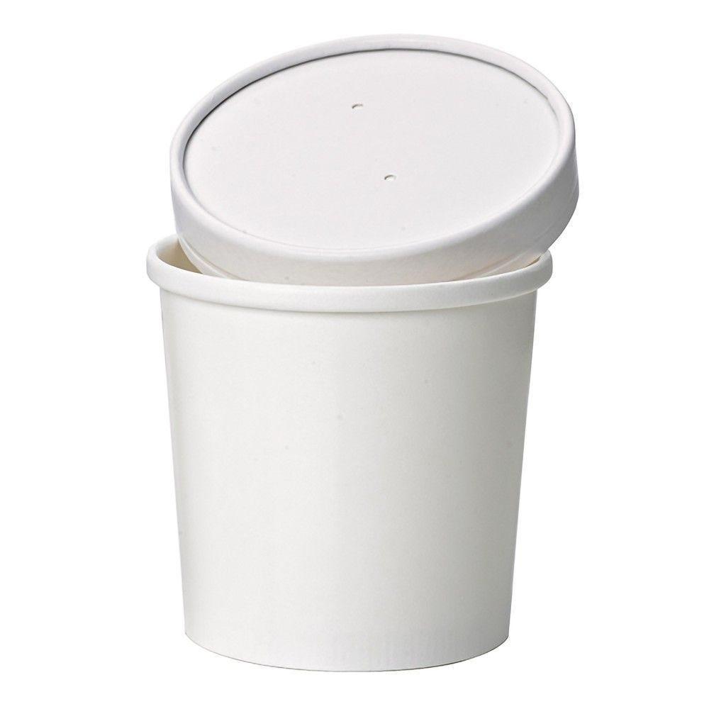 Pot carton blanc chaud et froid 35 cl Par 50
