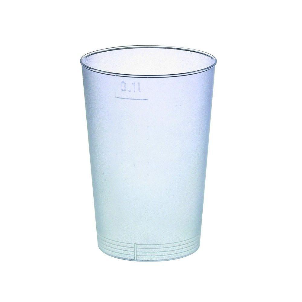 Gobelet plastique PP réutilisable 'Optimal' 5,7g Par 40 unités