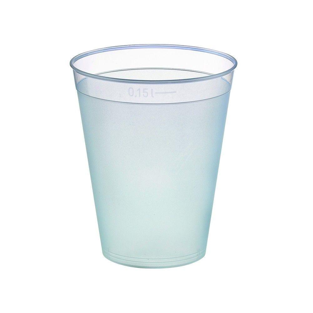 Gobelet plastique PP réutilisable 'Optimal' 6,6g Par 40 unités