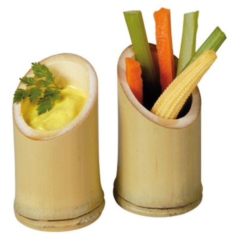 Tube bambou coupe oblique 'Asahi' 9 cm Par 20