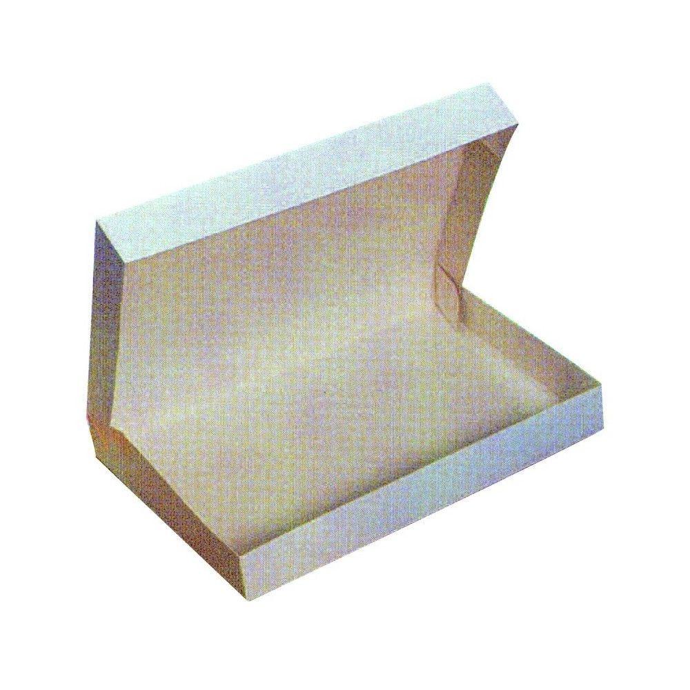 Boîte plateau lunch carton blanc 53,1g Par 25 unités