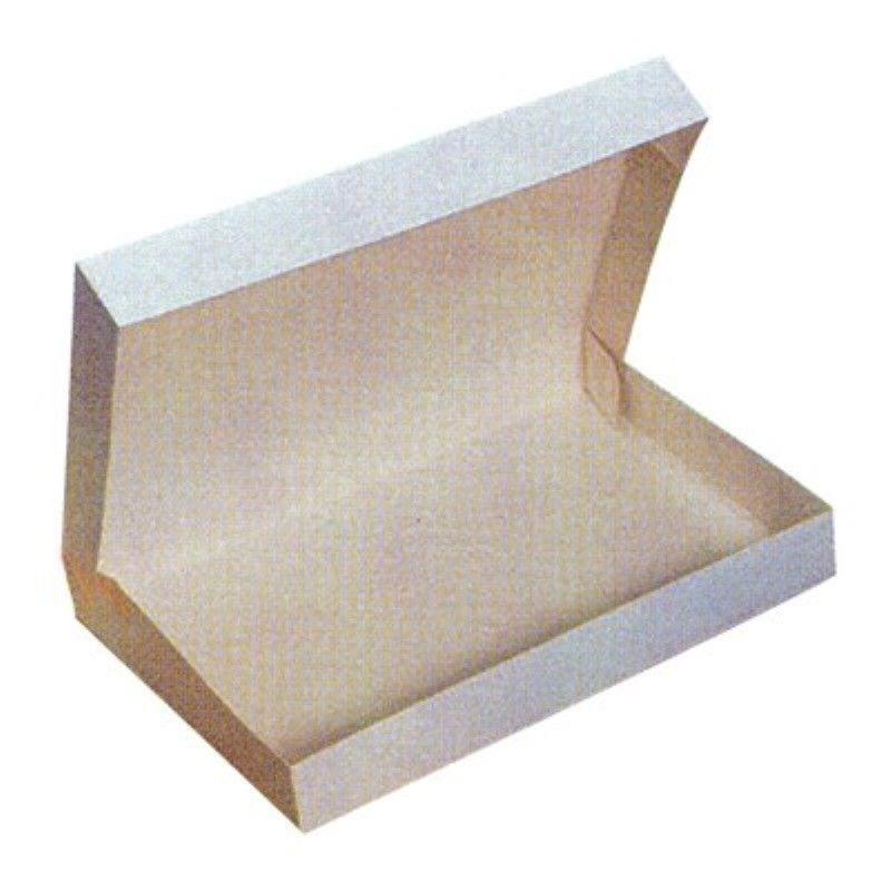 Boîte plateau lunch carton blanc 115g Par 25 unités