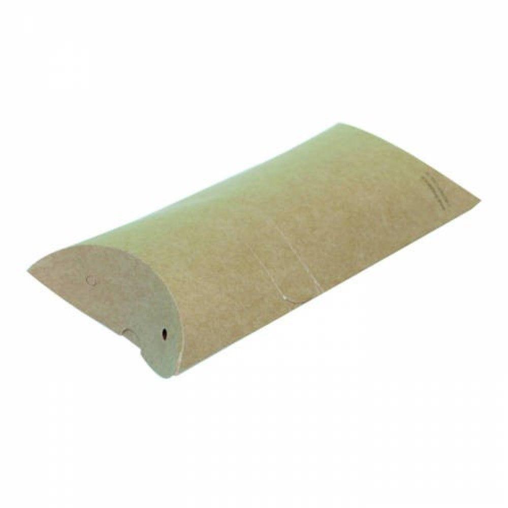 Boîte à crêpe rectangulaire carton kraft 10 x 4,5 cm Par 100