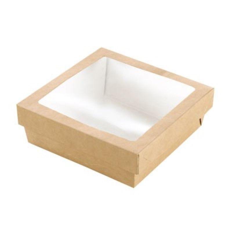 Boîte 'Kray' carton brun avec couvercle 15,5 x 15,5 cm 70 cl Par 25